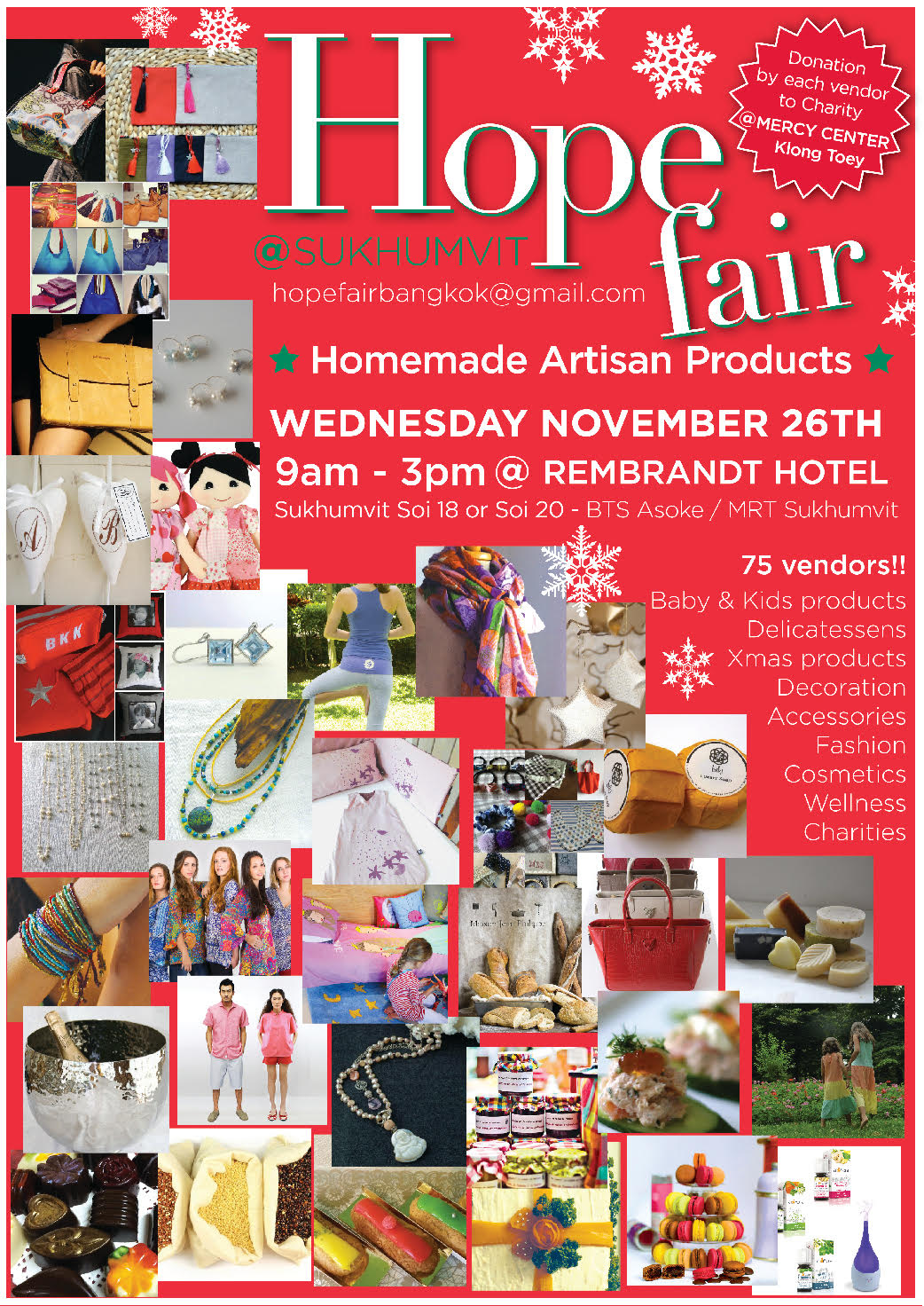 The Hope Fair, 3rd and special Christmas edition - November 2014
