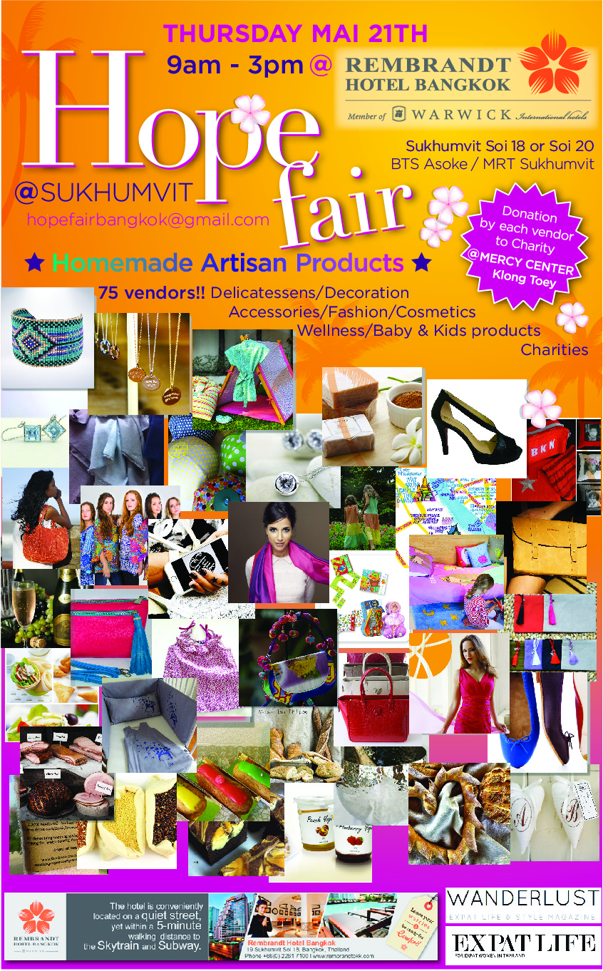 The Hope Fair, 5th edition - May 2015