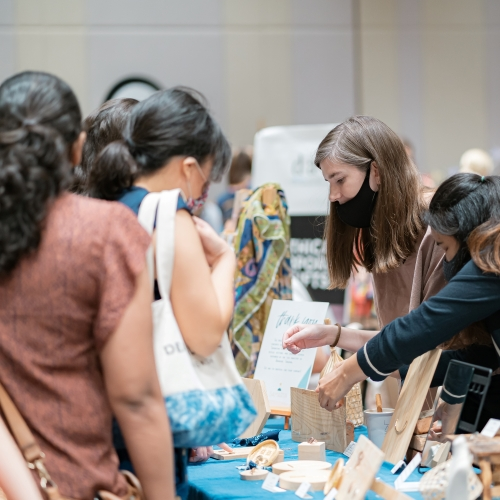 The Hope Fair is the perfect place to discover new products, often made by hand, traditionally!