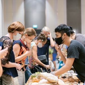 Breads, cakes and deli made from scratches and by hand are so delicious that clients line up to make sure they will bring some home!