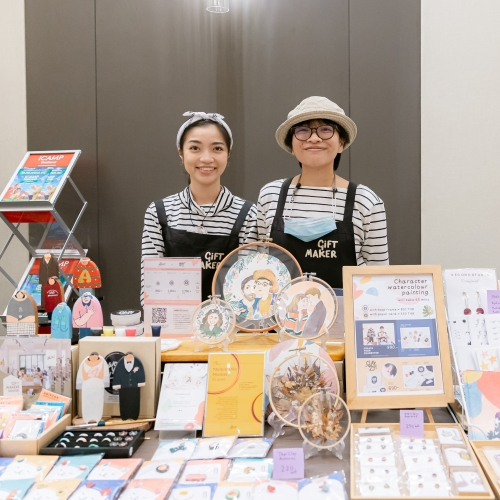 Colorful handmade gifts and souvenirs made to order by the artist herself is one of our long time favorite product!