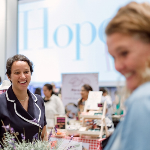 Smiles and laughter are everywhere @ The Hope Fair.